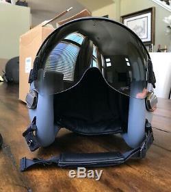 New Large Hgu55 Gentex Pilot Flight Helmet Hgu 55