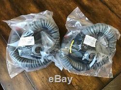 New Mbu-20 Oxygen Mask For Hgu 55 Gentex Pilot Flight Helmet Large Wide Mbu20a/p