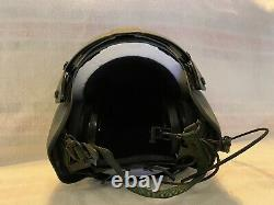 New Medium Hgu56p Pilot Flight Helicopter Helmet Hgu 56 W Cep Installed