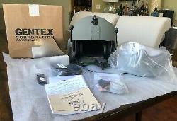New Medium Hgu56p Pilot Flight Helmet Maxillofacial Mfs Shield Cep Kit Hgu 56 #4
