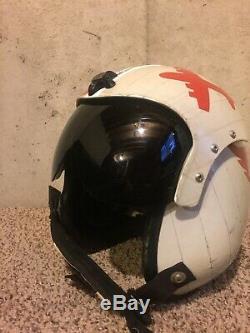 ORIGINAL US Navy HGU-33 PRK-37 Pilot Flight Helmet size Medium