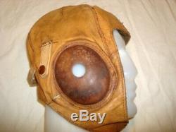 ORIGINAL WW2 Japanese Air Force Summer Flight Helmet IJA Pilot Zero Uniform