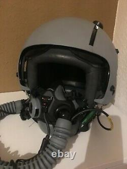 Orig. HGU 55/G German Air Force Pilot Flight Helmet LUFTWAFFE TORNADO MBU-20 WEA