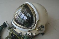 Original Air Force High Altitude Fighter Pilot Flight Protection Helmet, Sunvisor
