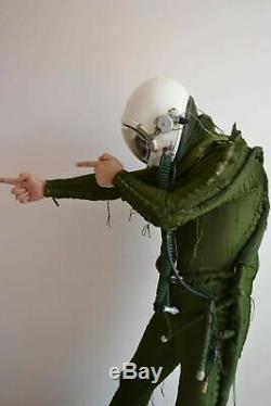 Original Air Force MiG Fighter Pilot Flight Helmet, High Altitude Anti G Suit