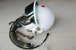Original Air Force Mig-21 Fighter Pilot Flight Helmet