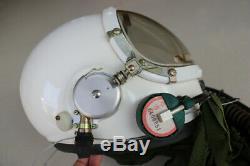 Original Authentic Air Force MiG Fighter Pilot Aviation Flight Safety Helmet