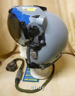 Original Gentex JHMCS flight helmet, pilot helmet, casque pilote de chasse