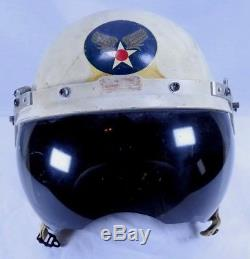 Original Korean War USAF Air Force P- 3 Jet Pilot Flight Helmet Fighter Pilot