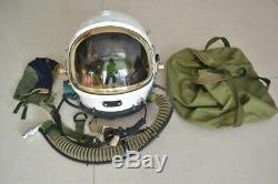 Original Navy Aircraft Carrier Fighter Pilot Flight Helmet, drop-shaped Helmet