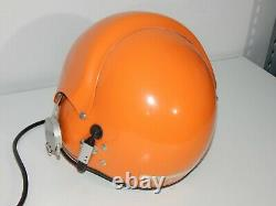 Original Polish Air Force Pilot Flight Helmet Pilotenhelm Flughelm THL-5 Polen