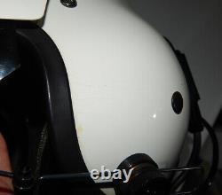 Original Polish Air Force Pilot Flight Helmet Pilotenhelm Flughelm THL-5C Polen