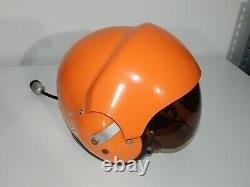 Original Polish Air Force Pilot Flight Helmet THL-5 Poland RARE
