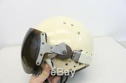 Original Russian Soviet Pilot Flight USSR Air Force 70s MIG Fighter Helmet