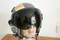 Original USAF Pilot Flight Helmet HGU-55/P Black Sunvisor