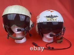 Original Vietnam War Flight Helmet Named Set Helicopter Pilot USMC Search Rescue