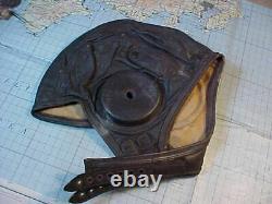 Original Wwii Usaaf Pilot Cadet Flight Helmet
