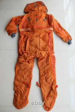 Original air force mig fighter pilot flight helmet, pilot combine lifesaving suit