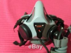 Oxygen Mask MBU-20 Gentex Combat Edge Pilots flight helmet