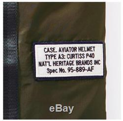 P40 Helmet Bag Military Airplane / Aircraft Pilot khaki Flight America