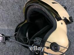 Pilot Flight Helmet Gentex SPH5 Helicopter Large