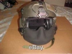 Pilots flight helmet complete HGU56/P