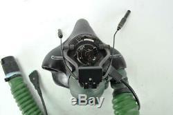 RAF Sepecat Jaguar Aircraft Pilot Flight Helmet Oxygen Mask Q Type