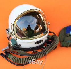 RARE Flight Helmet High Altitude Astronaut Space Pilots Pressured HELEMT BAG 1#