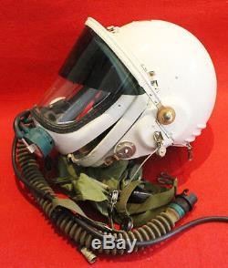 RARE Flight Helmet High Altitude Astronaut Space Pilots Pressured SIZE 2# 58#