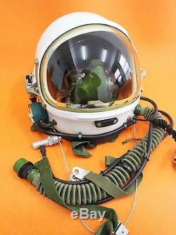 RARE Flight Helmet High Altitude Astronaut Space Pilots Pressured Size1# XXL DD
