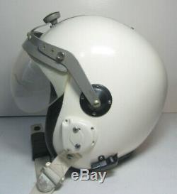RARE USAF VIETNAM TOPTEX 4AM Test Pilot Flight Helmet NAMED withBag Protection Inc