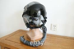 Rare Korea fighter pilot HGU-55/P flight helmet (magic energy-absorbing)+ MBU-12
