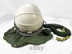 Rare Soviet flight pilot helmet 4 Air Force space suit Russian MIG GSH-6 aviator
