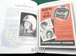 Red Helmet Usaf Thunderbirds P-3 Toptex Gentex Jet Pilot Flight Reference Book