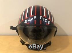 Replica custom Top Gun 2 Maverick HGU pilot flight helmet