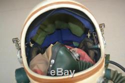 Retired Flight Helmets Air Force Astronaut High Attitude Fighter Pilot Helmet