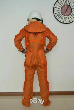 Russia Militaria Aviation Flight Suit, High Altitude Fighter Pilot Flight Helmet