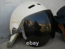 Russian Soviet pilot flight helmet Air Force ZSH-5A Pilot helmet USSR