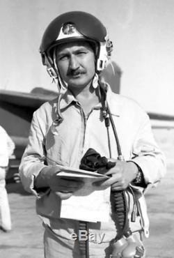 Russian Soviet pilot flight helmet USSR Air Force ZSH-5A sz2 Vietnam