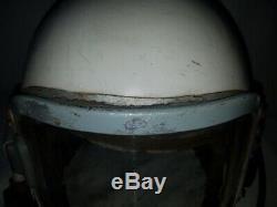 Russian Soviet pilot flight stratospheric helmet GSH-6A USSR Air Force
