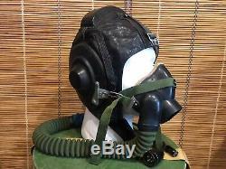Set Soviet pilot flight helmet, Air Force ZSH-3M box Su, Mig. USSR. Original