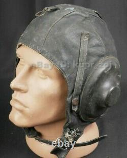 ShL-50 Soviet pilot flight helmet balaclava 1950 air force RARE hat