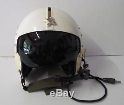 Sierra Engineering APH-5 Pilot's Aviator's Flight Helmet Size Large