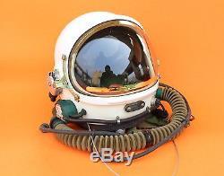 Spacesuit Flight Helmet Airtight Astronaut Pilot Helmet 1# XXL Flying Suit