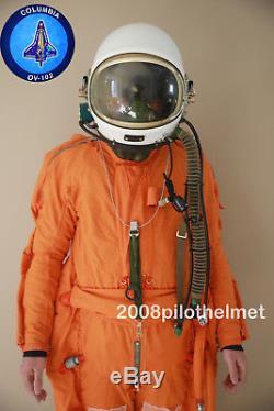 Spacesuit Flight Helmet Airtight Astronaut Pilot Helmet Flying Suit 010508