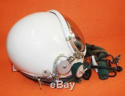 Spacesuit Flight Helmet Airtight Astronaut Pilot Helmet Flying Suit 0319