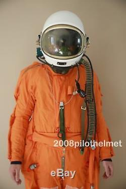 Spacesuit Flight Helmet Airtight Astronaut Pilot Helmet Flying Suit 05022