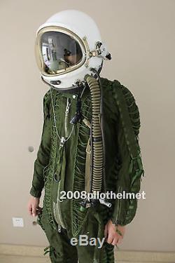 Spacesuit Flight Helmet Airtight Astronaut Pilot Helmet Flying Suit $389.9