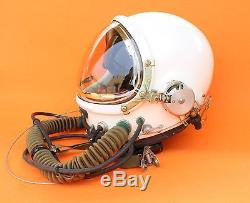 Spacesuit Flight Helmet Airtight Astronaut Pilot Helmet Flying Suit- P-3# 08803