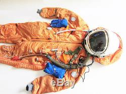 Spacesuit Flight Helmet Airtight Astronaut Pilot Helmet Flying Suit P-4# 0101